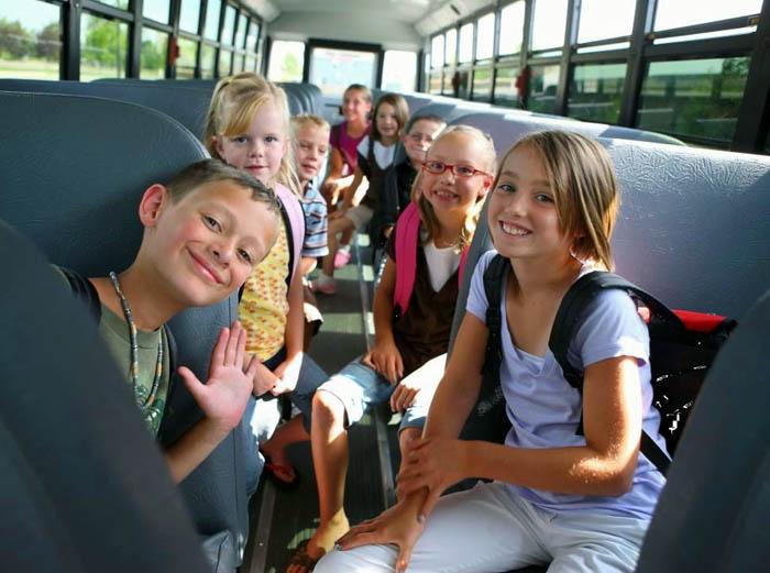 в современных автобусах детям комфортно