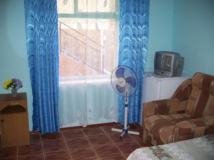 В номере гостевого дома У Вадима